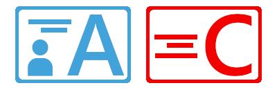 顔写真付き本人確認書類A.顔写真なし本人確認書類C(良い例)